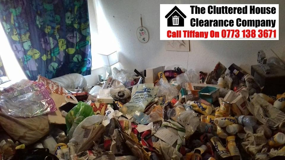 Hoarded house clearance specialists: Clearing a hoarder's house in the UK.